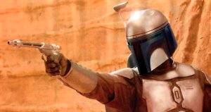 It's a picture of Jango Fett